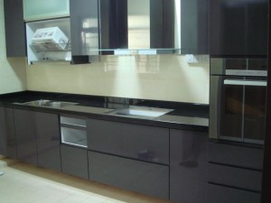 modern kitchen top