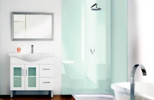 solid surface for shower walls