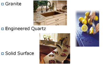 Solid surface vs granite vs quartz solid surface Kitchen countertops quartz vs solid surface
