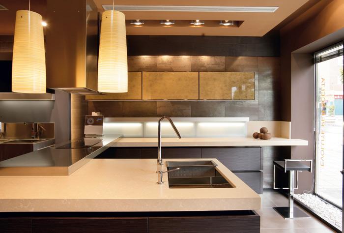 countertops kitchen silestone quartz Silestone Quartz